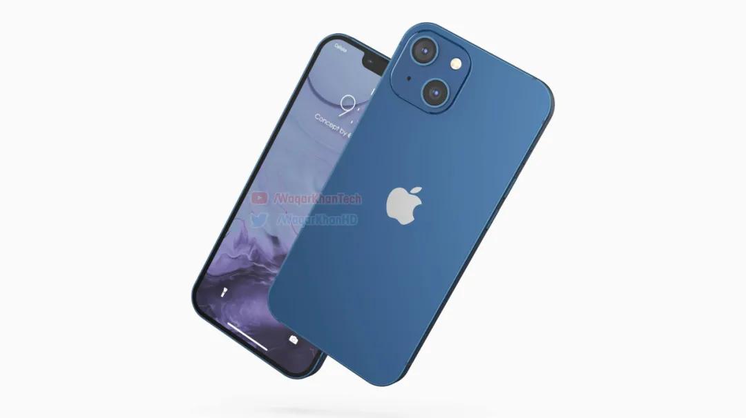 十三香?iPhone 13最新渲染图曝光丨iPad mini6下半年亮相
