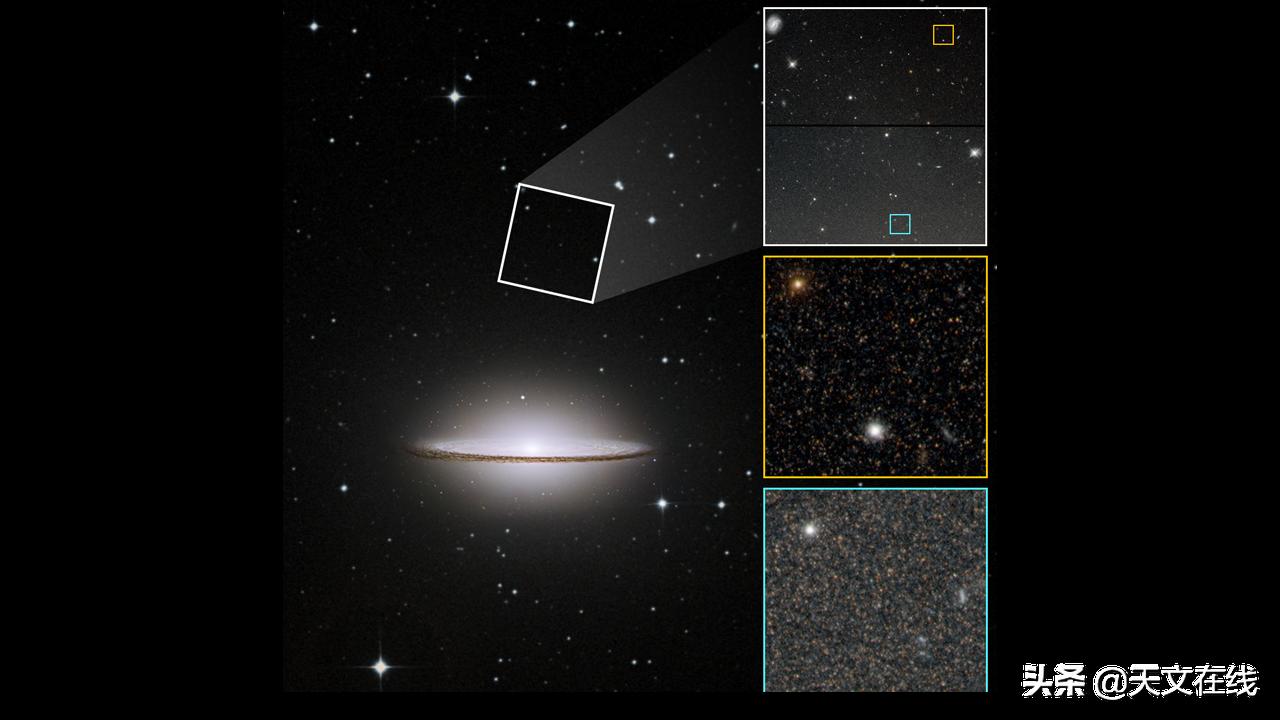 涅槃重生?哈勃望远镜的数据表明 草帽星系或曾发生大合并