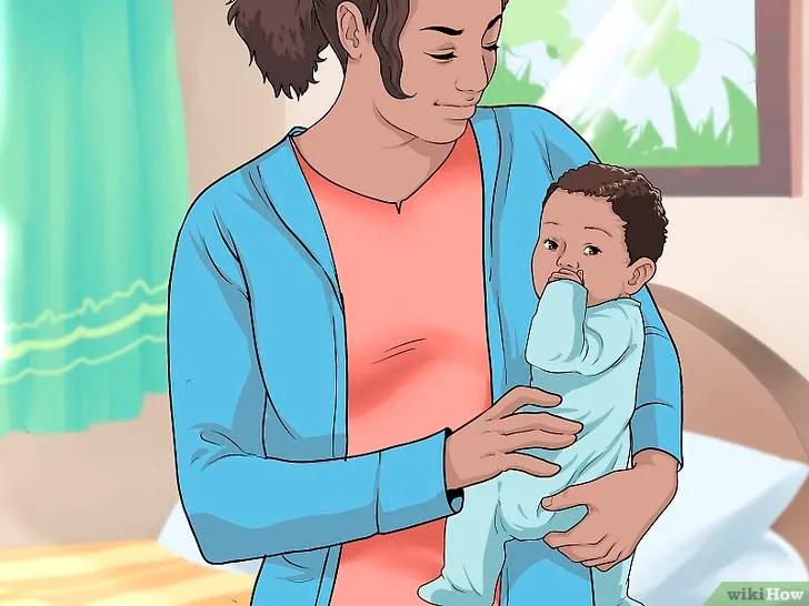 錯誤抱娃,可能會傷了寶寶的頸椎,圖解正確姿勢