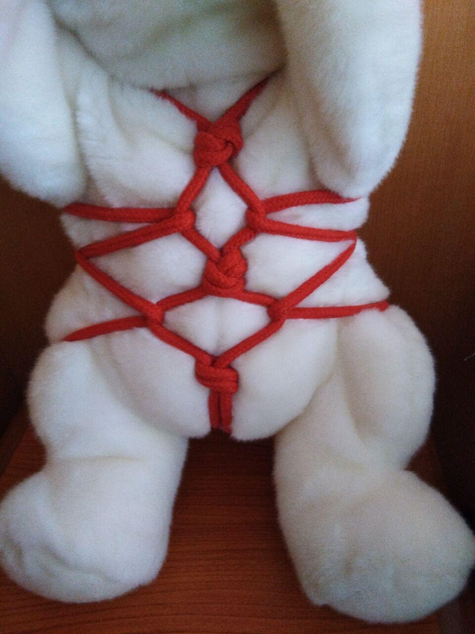 一位5M中的绳艺,捆绑