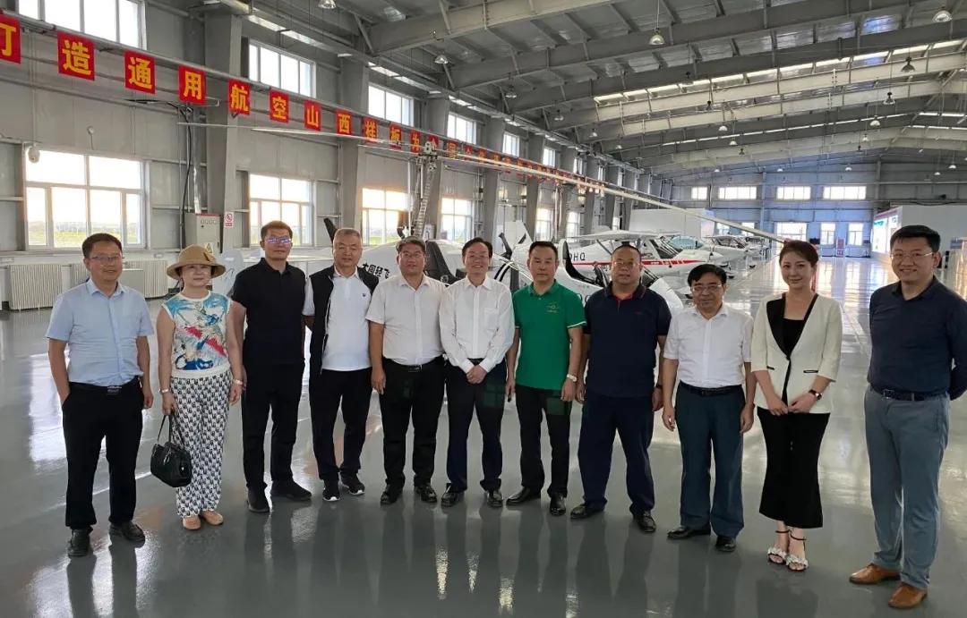 山西省委常委、大同市委书记张吉福会见9省在京商会代表一行