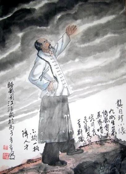 龚自珍是哪个朝代的诗人?龚自珍的代表作