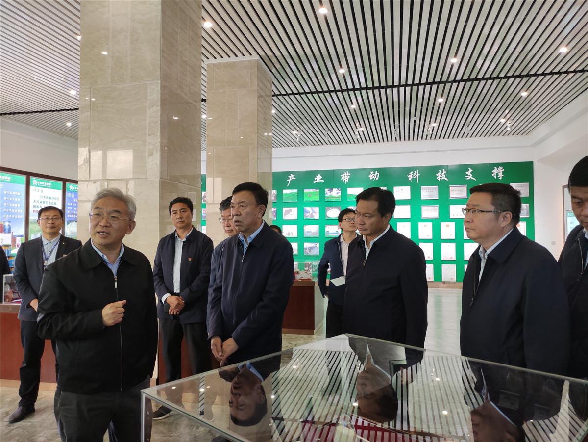 农业农村部副部长张桃林莅临甘肃华羚乳品股份有限公司调研指导