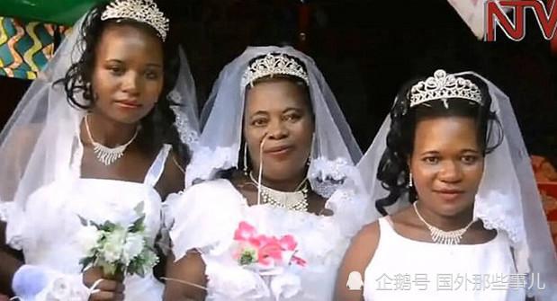 <a href=https://m.kgongcn.com target=_blank class=infotextkey>乌干达</a>男子大婚,竟然出现了3位新娘