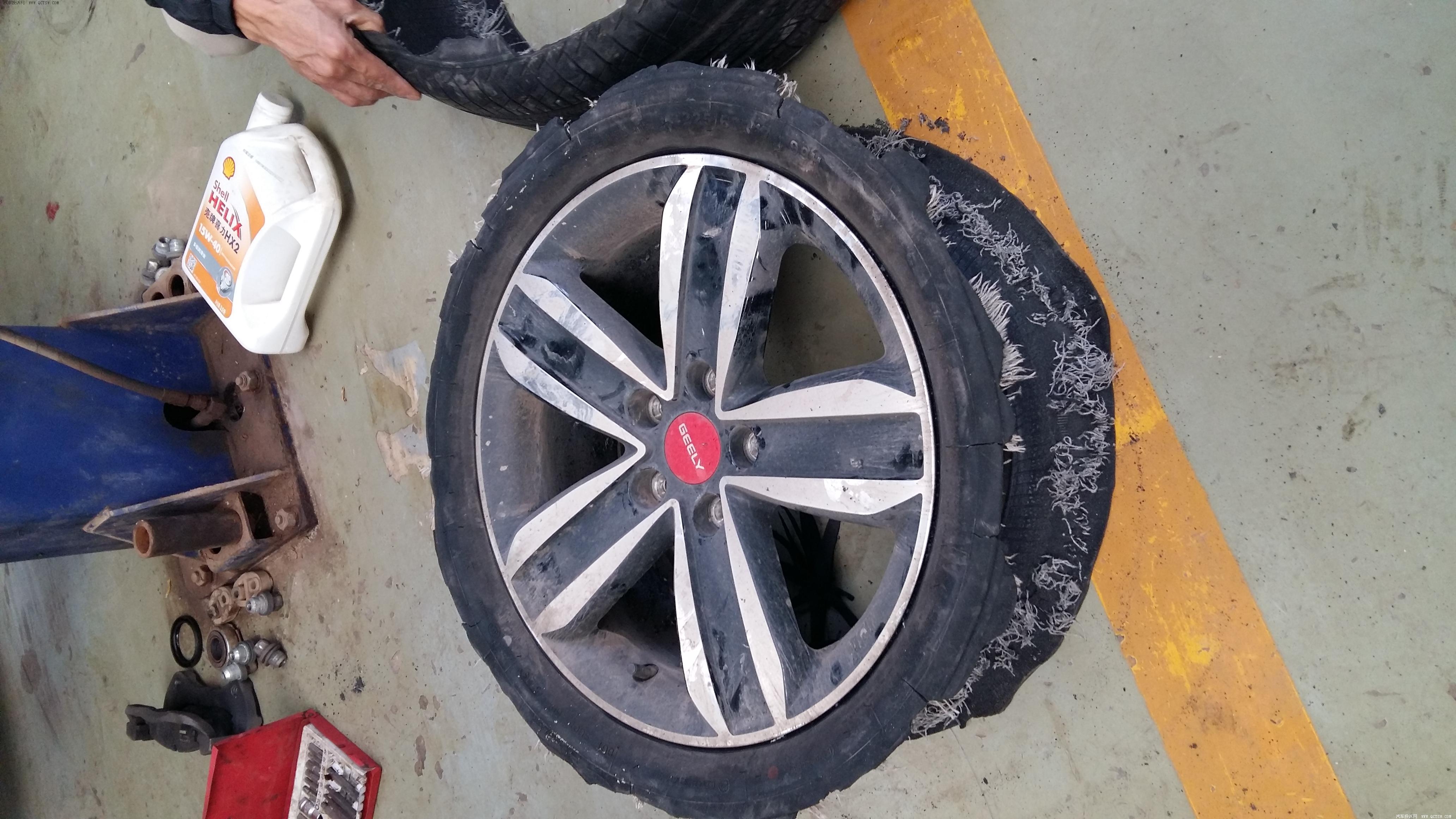 银川男子给轮胎充气发生爆炸,爆炸威力有多大?