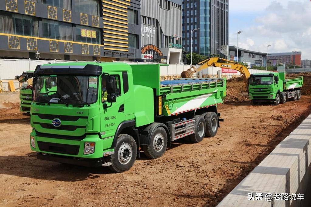 不止改头换面 看比亚迪全新纯电动渣土车T31