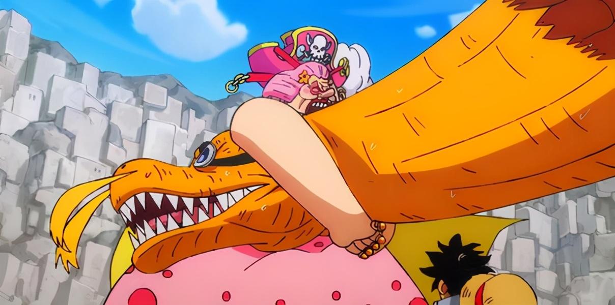 海賊王:實力不如大媽,卻敢硬懟大媽的5人,烏爾緹不愧是鐵頭娃