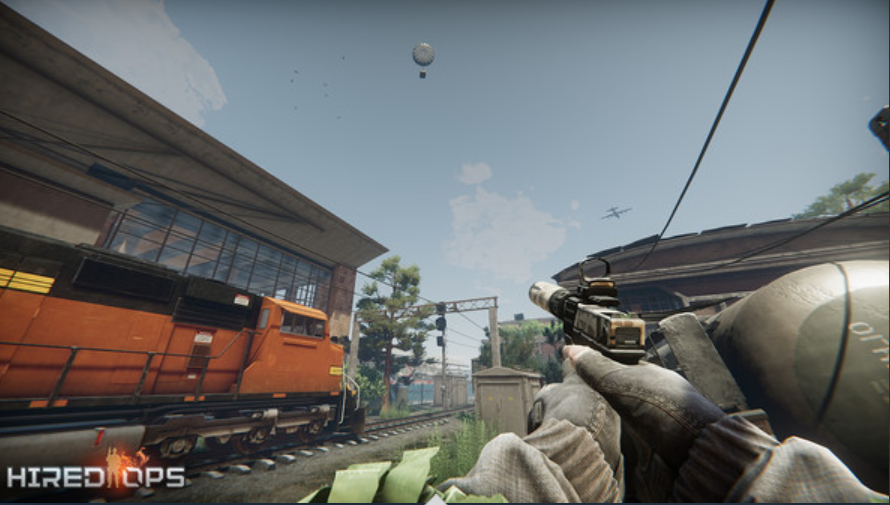 Steam first-person shooter Hired Ops for free