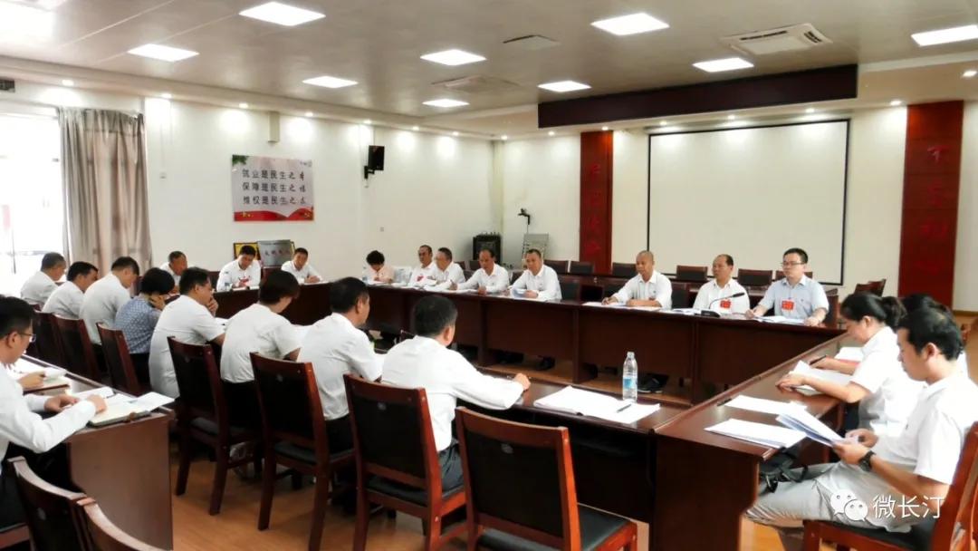 长汀县领导参加县十四次党代会代表团分组讨论