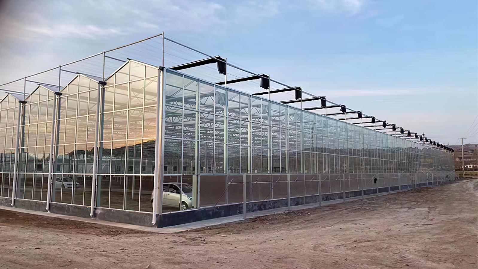 采用Venlo(文洛)型玻璃溫室有什么優點,您了解嗎?