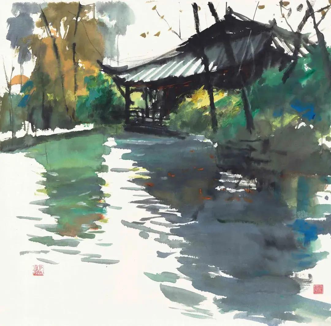庆祝中国共产党成立100周年新都画院百幅美术作品展在成都开展