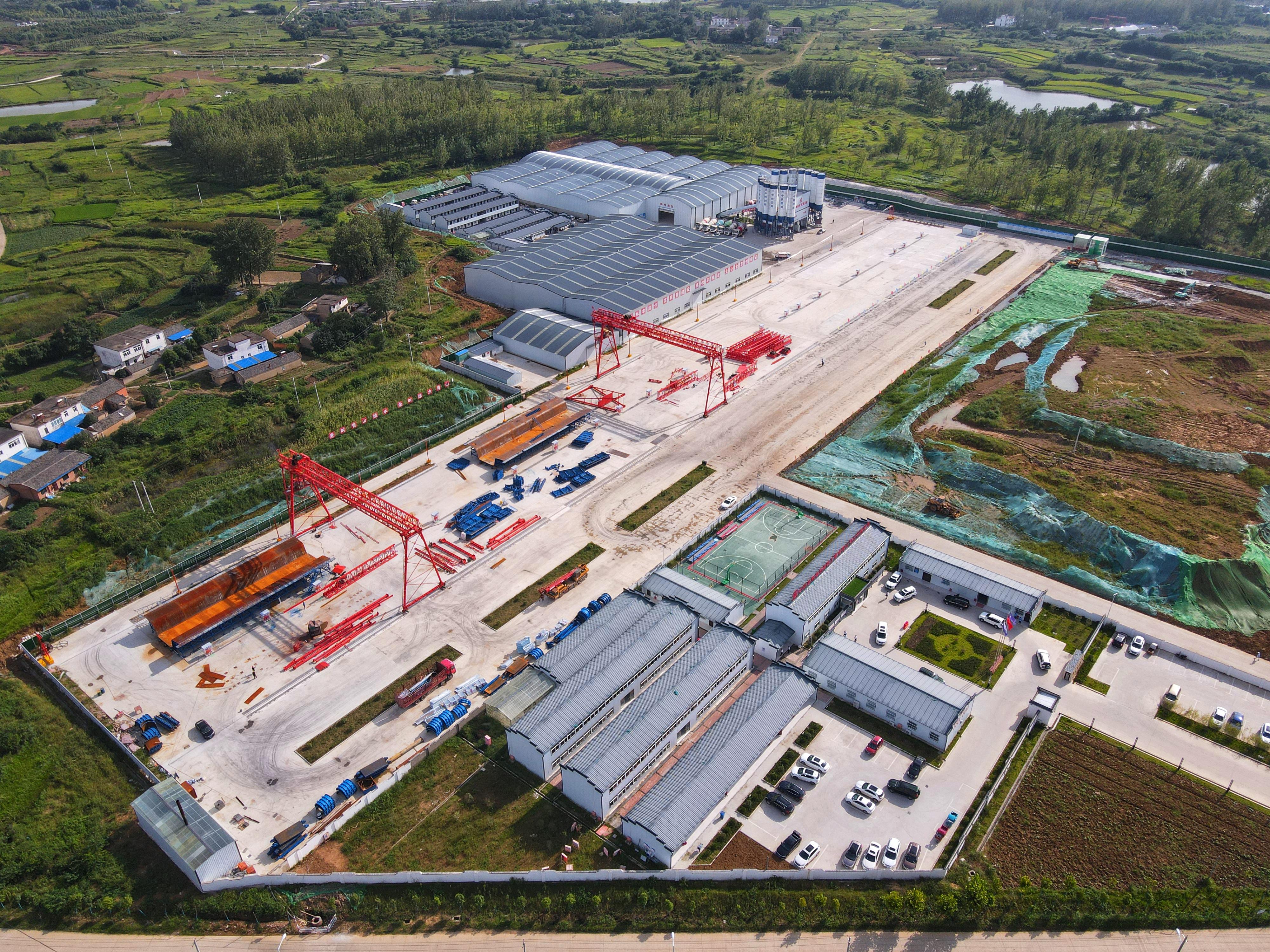 安徽省委常委、合肥市委书记虞爱华到合新铁路项目调研