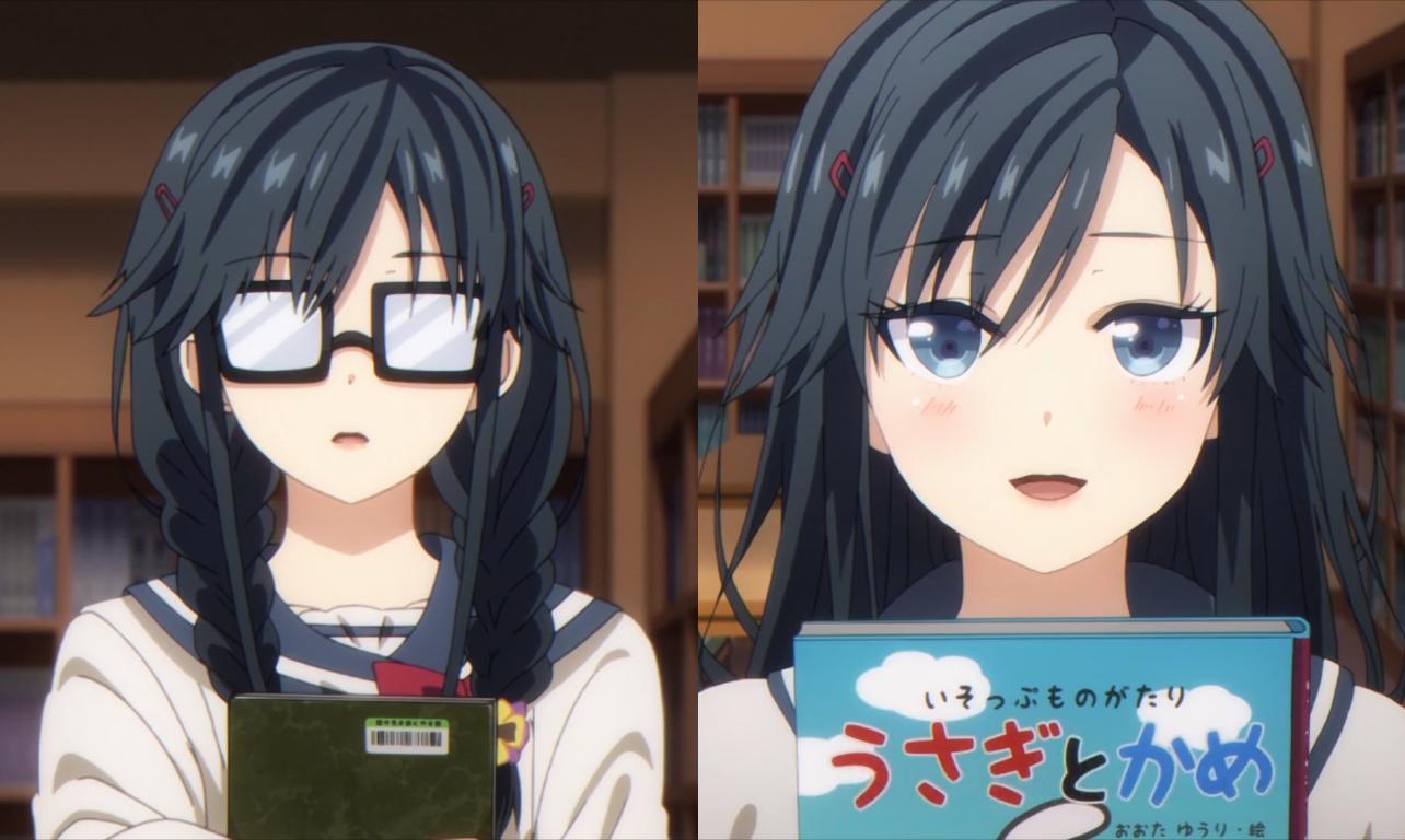 戴上眼鏡與摘掉眼鏡,這些動漫角色的變化有「億」點大