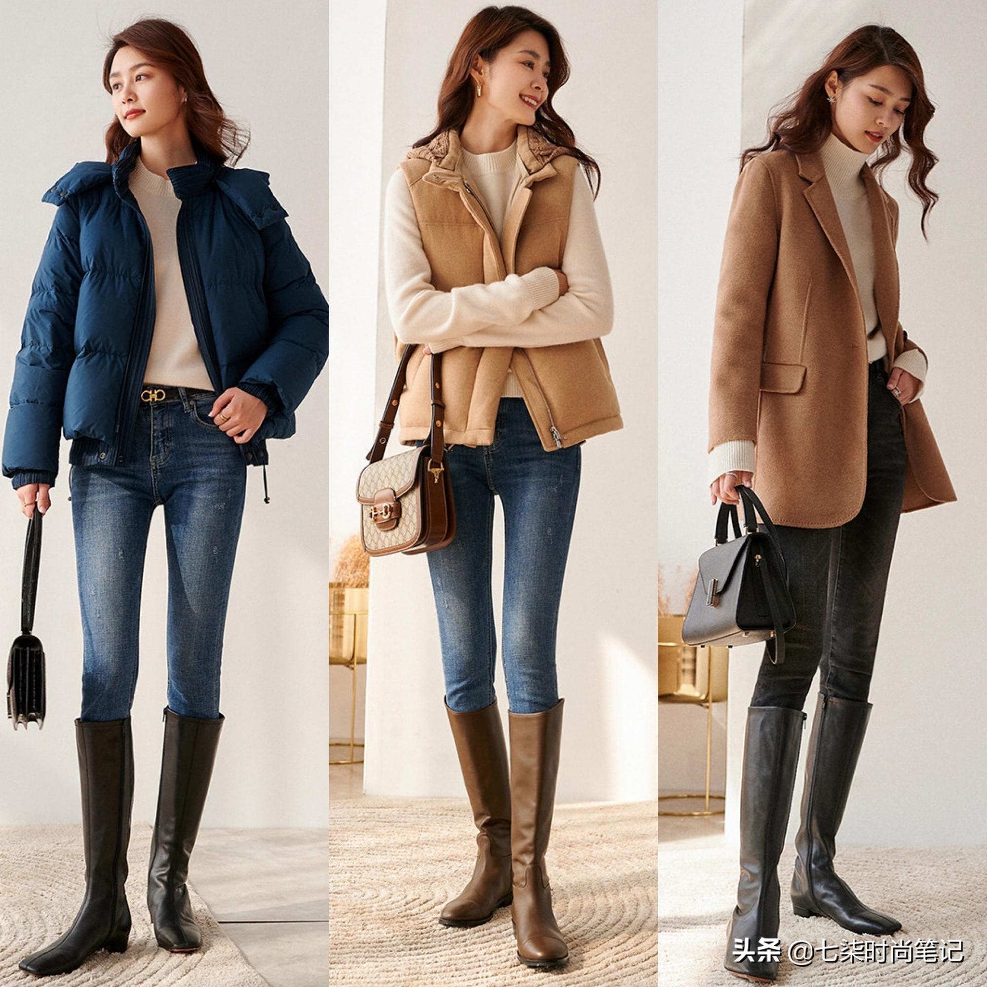27套輕熟風穿搭模板,基礎款也能簡約不單調,冬末初春就這樣穿