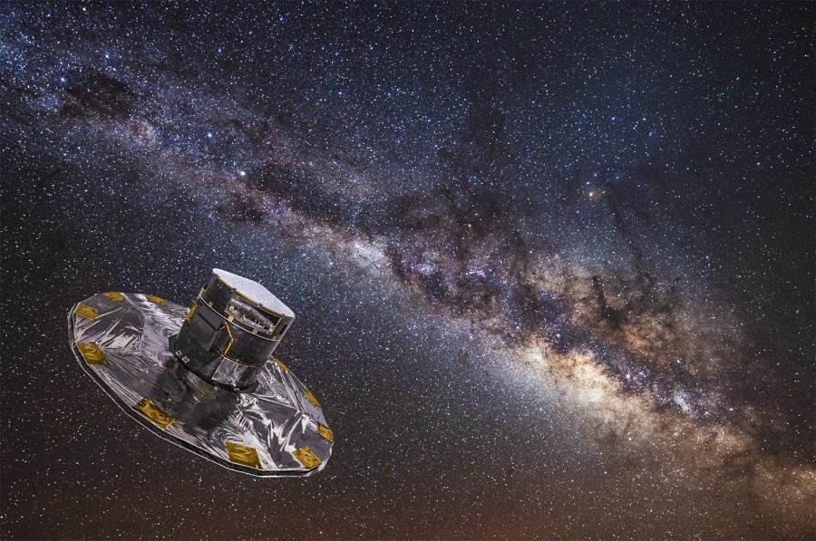 人类正在重新认识银河系,比数十亿年前更加巨大,遭受矮星系撞击