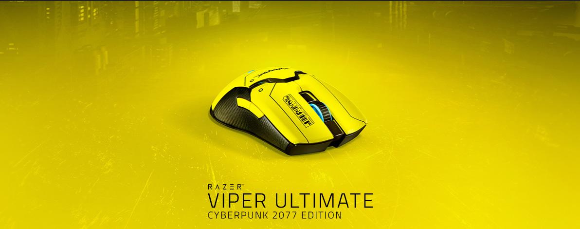 雷蛇发布Viper Ultimate赛博朋克2077联名版