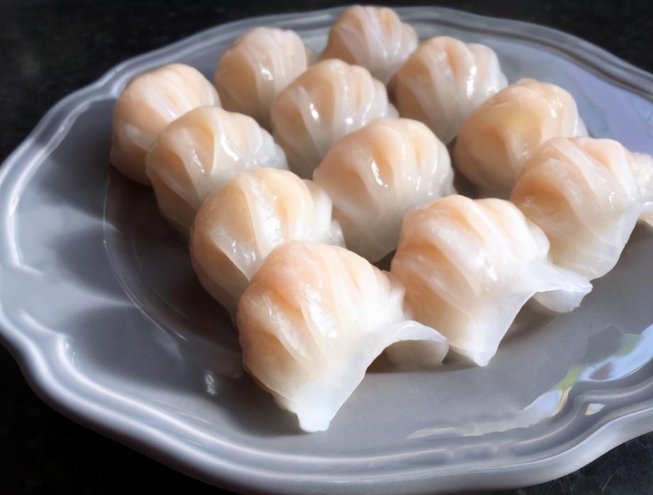 水晶胡萝卜虾饺的做法步骤图 太鲜了