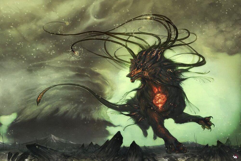 克苏鲁神话生物——廷达罗斯猎犬