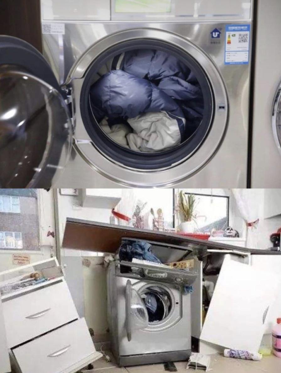 羽绒服可以用洗衣机脱水吗(洗好的羽绒服怎样脱水)