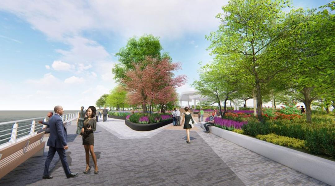 纽约哈德逊广场码头公园方案公布