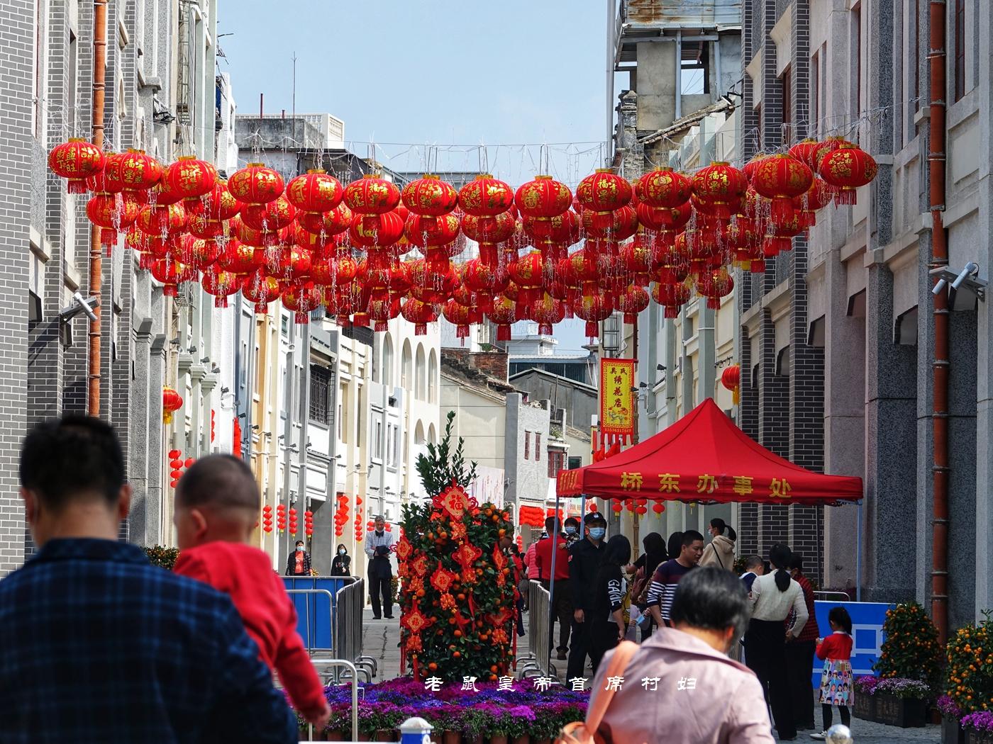 惠州西湖天下秀,水东老街春节人山人海,这广式年味太浓了