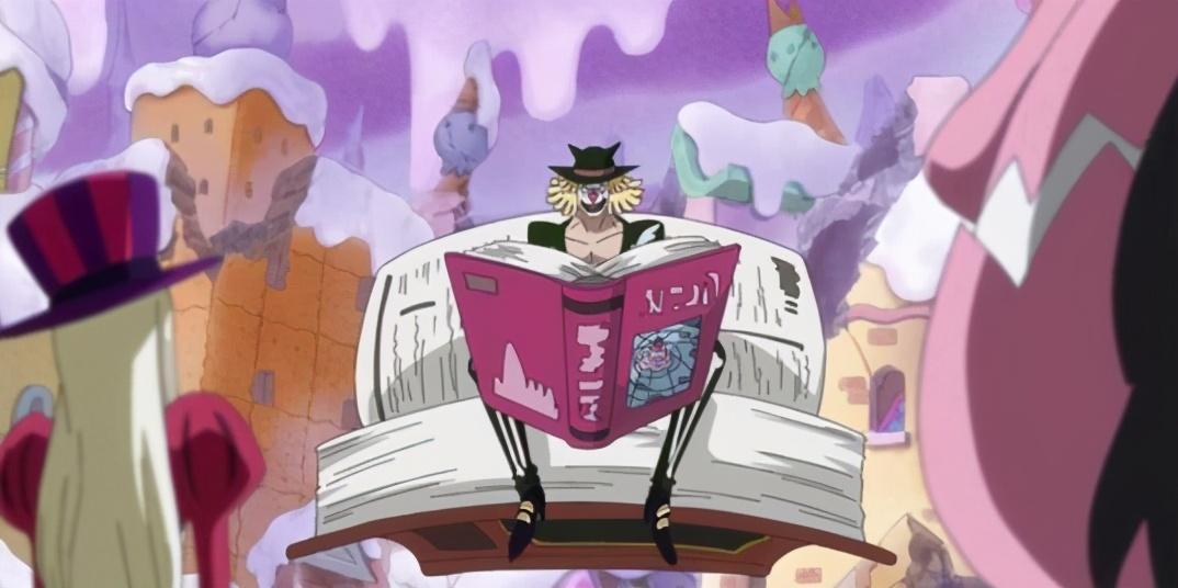 海賊王:夏洛特家族擁有的5顆頂級果實,記憶果實作用巨大