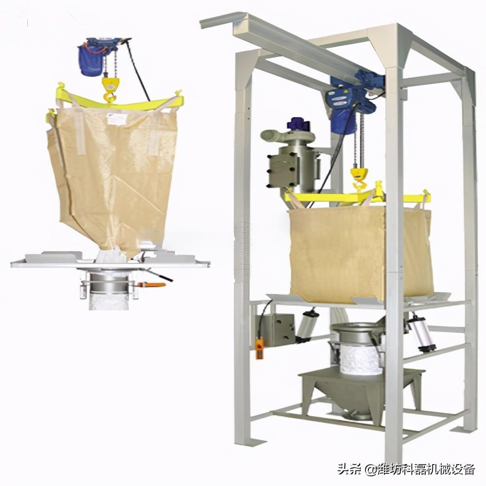 吨袋拆包机提高袋料拆分效率防止粉尘污染