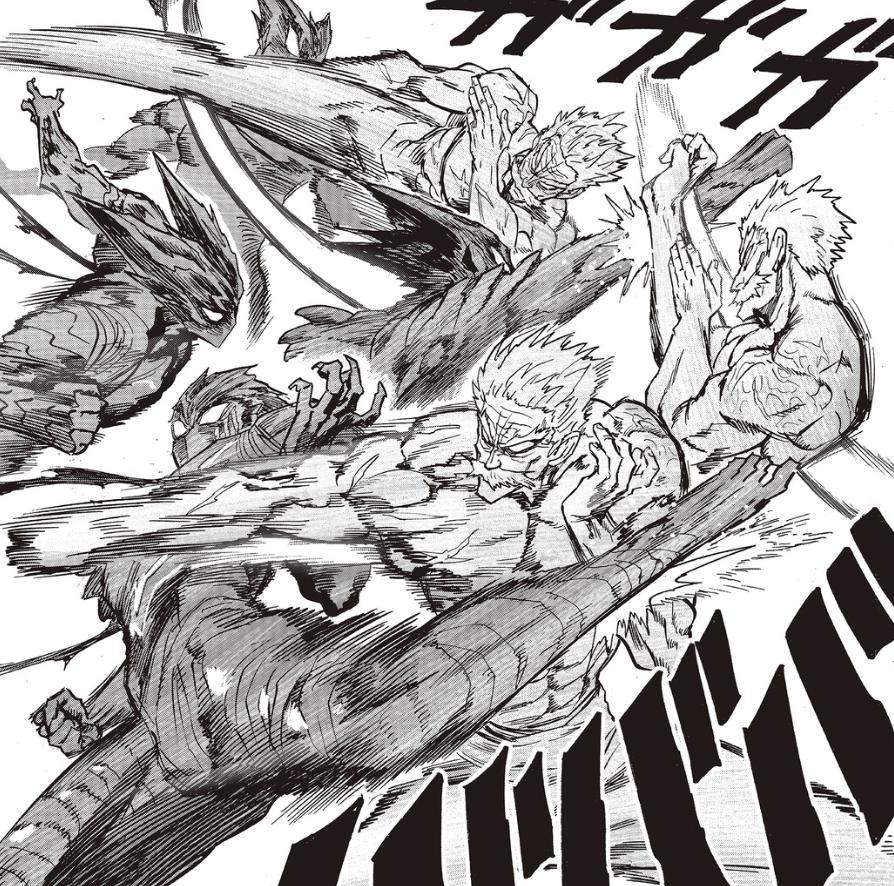一拳超人192話:龍巔黃精登場,原子或成二刀流劍聖