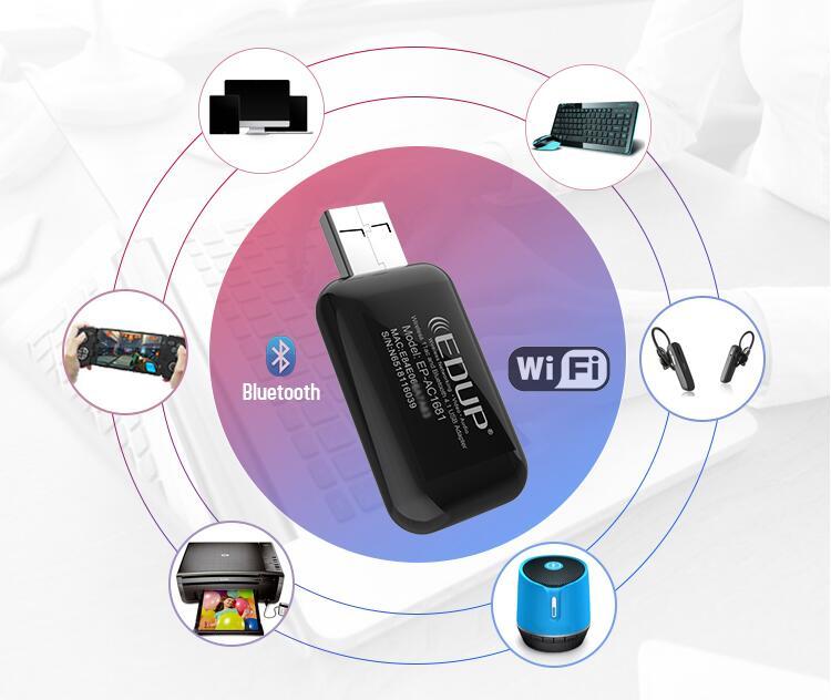 开启无线世界 试水蓝牙影音 这两款EDUP无线网卡可以轻松做到