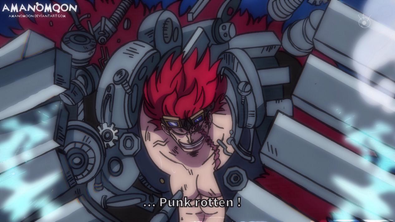 海賊王:基德會是下一個巴雷特?即使果實相似,天賦還是差太遠