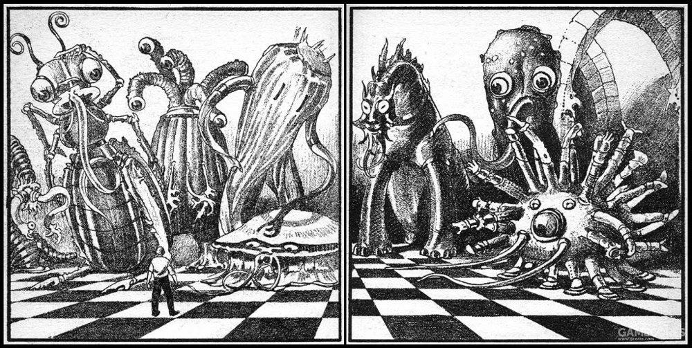 克苏鲁神话生物——伊斯之伟大种族