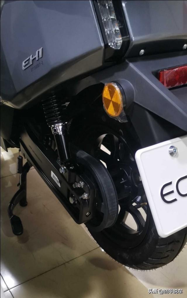 大阳EH1配中置电机,续航100,前后12寸轮胎配双碟刹,喜欢吗?