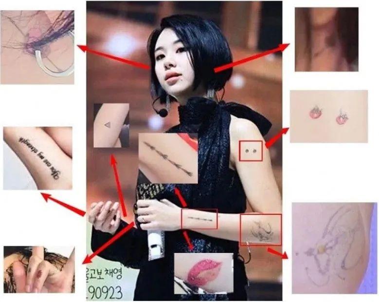 回归在即公开新纹身,既往恋爱孰真孰假;BLACKPINK完整体回归?