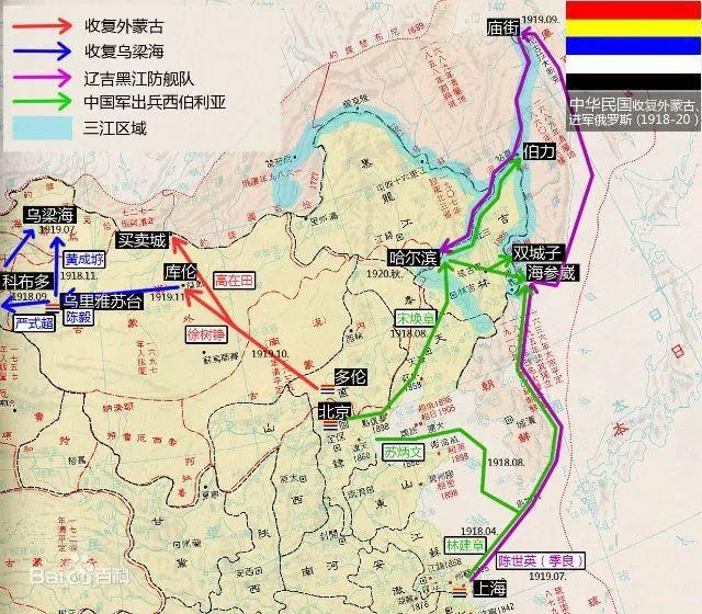 百年前的辉煌,1920年的中国海军曾经在境外痛击日军