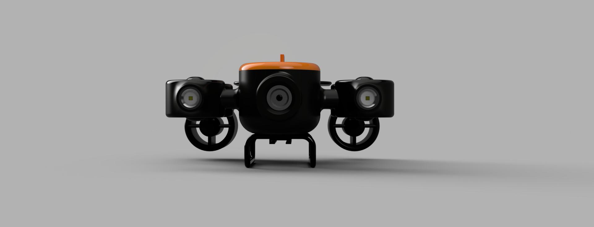 TITAN v1 ROV遥控无人潜水器造型3D数模图纸 STEP IGS格式