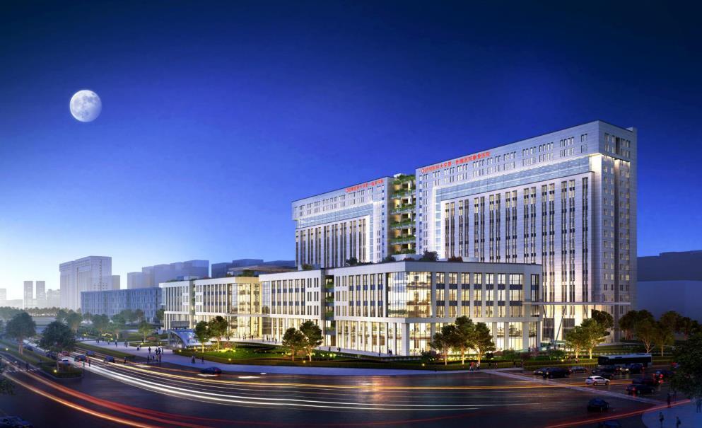 昆明云大医院呈贡院区继续壮大,二期80余亩用地即将启动建设