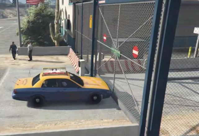 """《GTA5》中都有哪些""""禁止区域""""呢?如果强行闯入会怎样?"""