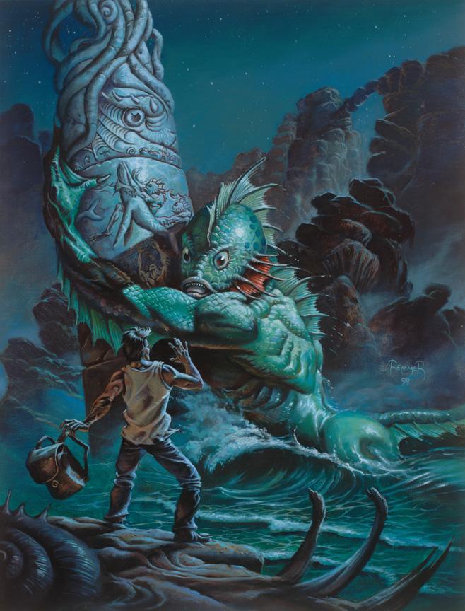 克苏鲁神话生物:大衮和海德拉