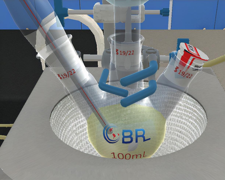 北京欧倍尔有机化学实验室-安息香的合成虚拟仿真软件