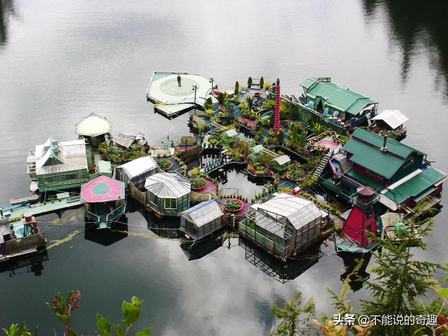 """浮在海上的""""房屋"""":一夫妻用28年时间,打造远离都市烦嚣的家"""