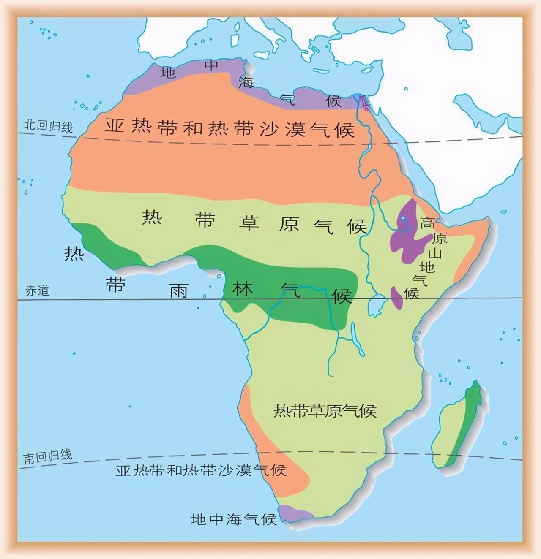 高中地理――每日讲1题(南美洲的地形、气候,非洲气候,洋流)