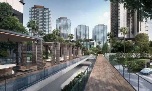 新加坡西海岸背山望海公寓Normanton Park 鑫悦府