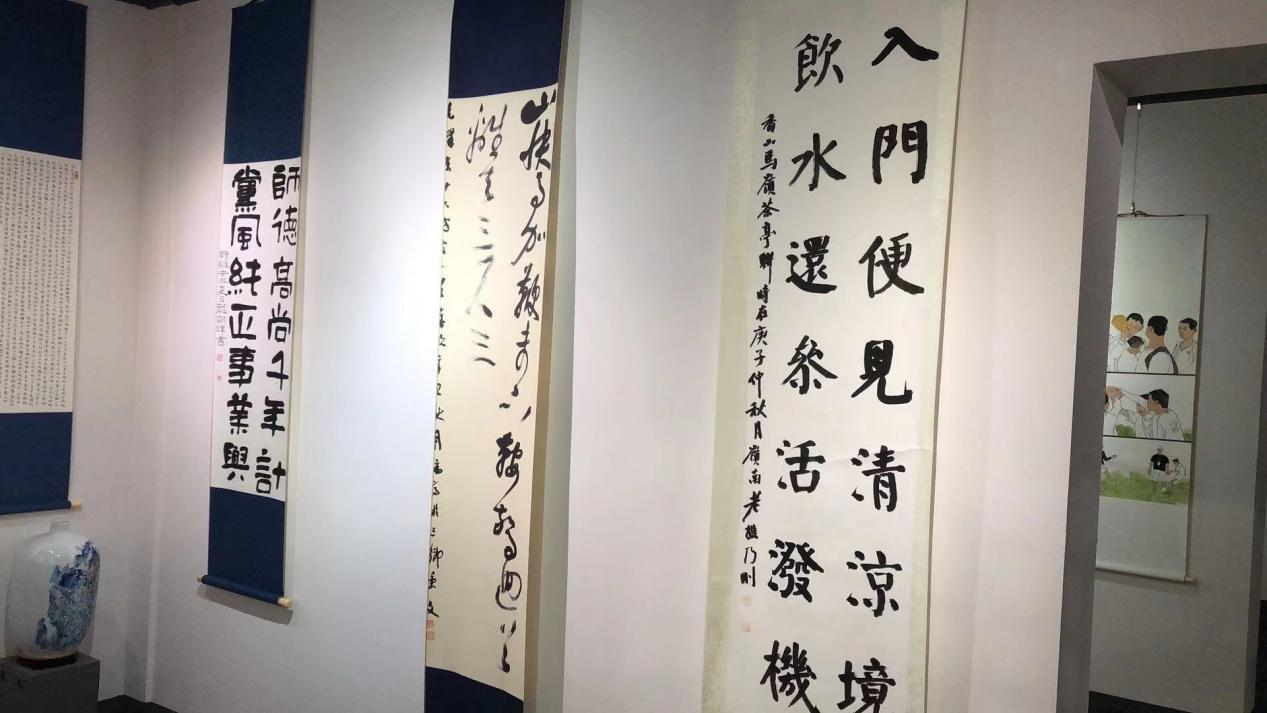 九月的歌—–中山市三乡镇优秀书画作品展在成荣美术馆开幕插图(12)