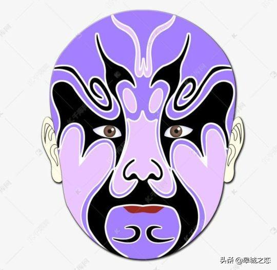 京剧脸谱黑色表示什么意思(京剧脸谱黑色一般表示什么品质)